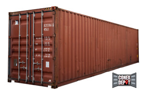 40ft High Cube Used Wwt Shipping Container For Sale In Chicago Il We Deliver
