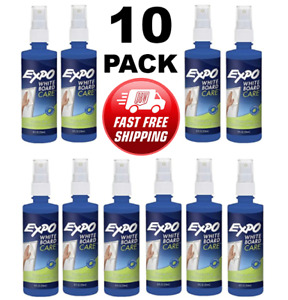 Expo 81803 Non toxic Whiteboard Cleaner 8oz Spray Bottle 10 Pack