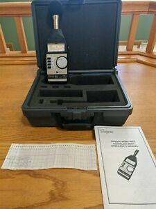 Simpson 886 2 Sound Level Meter With Calibration Certification