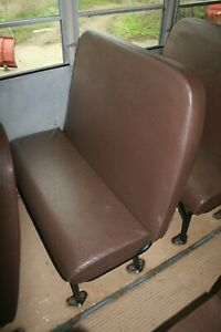 Replacement School Bus Seat W Mount Cushions