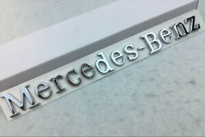 Car Decal Badge Rear Emblem Stickers Accessories Logo Fit For Mercedes benz