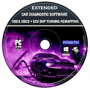 Obd 1 Obd 2 Car Diagnostic Software Extended Ecu Bhp Tuning Remapping Elm 327