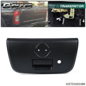 For 2001 2004 Nissan Frontier Tailgate Handle With Bezel Keyhole Liftgate