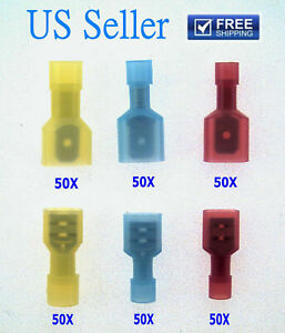 300x Female male Insulated Wire Terminal Connectors Combo Set 14 16 10 12 16 22
