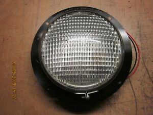 Vintage Tractor Trailer 6 Volt 7 Dome Light Circa 40 s 50 s