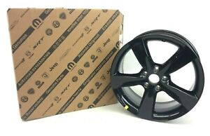 2013 2016 Dodge Dart Gloss Black 18 Inch Aluminum Wheel Rim New Oem 1th59dx8ab