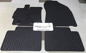 Scion Tc 2011 2013 Factory All Weather Rubber Floor Mats Genuine Oem