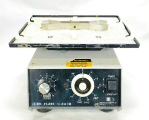Lab Line Instruments 4625 Titer Plate Shaker With Holding Clamp