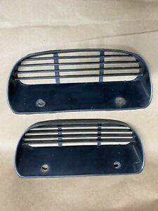 71 72 73 Amc Javelin Amx Park Lamp Turn Signal Grill Part 3633508 Pair