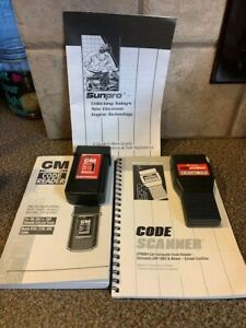 Sunpro 1982 1995 Gm Code Reader Gm Code Scanner With Manuals B16