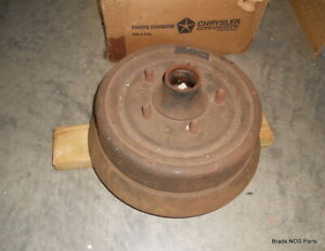 Nos Mopar 1964 1966 Chrysler Imperial Crown Lebaron Front 11 X 3 Brake Drum Rh