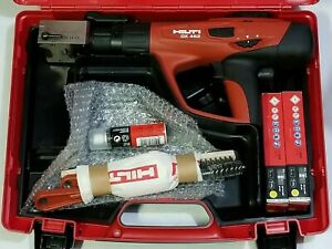 Hilti Dx 462 Powder Actuated Tool With X hm Head Open Box