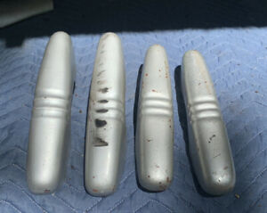 1940 Ford Deluxe Bumper Guards 4 Original Hot Rod Painted Solid
