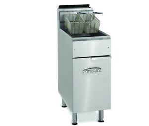 Imperial Deep Fryer double Basket