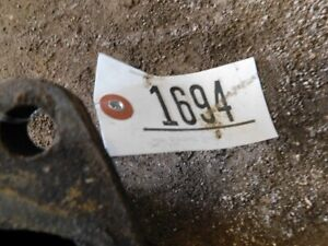 Allis Chalmers 200 Tractor Exhaust Maniford W Turbo 1694
