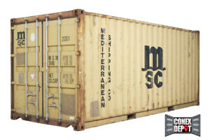 20ft Quality Used Shipping Container For Sale In Chicago Il We Deliver