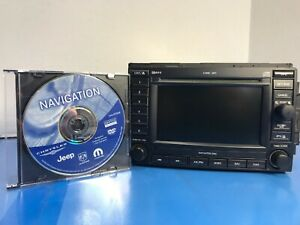 2005 2007 Dodge Jeep Chrysler Navigation Gps Radio Rec 6 Cd Changer 50 Refund