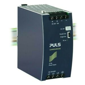 Puls 24vdc Power Supply Ct10 241 In 3 Phase Ac 380 480v Out Dc 24 28 10a New