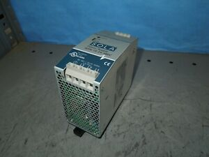 Sola Power Supply Sdn 10 24 480c 380 480v Input 24vdc Output Used