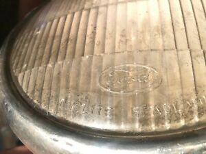 Classic Old Ford Headlights Vintage Antique 2 Large And 2 Small