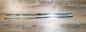 1967 1970 Cadillac Eldorado Lh Rh Lower Stainless Steel Door Trim Moldings Oem