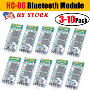 Wireless Rf Transceiver Serial Rs232 Ttl 5v Hc 06 4 Pin Bluetooth For Arduino Us