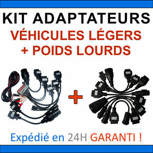 Kit Cables Vl Pl For Suitcases Of Diagnosis compatible With Autocom Delphi