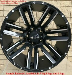 Wheels For 20 Inch Dodge Ram 1500 2007 2008 2009 2010 2011 2012 Rims 1880