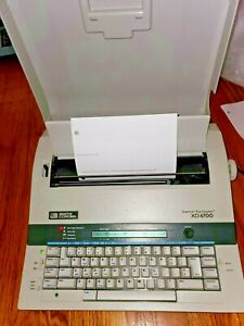 Smith Corona Typewriter Xd 6700 W 5p Grammar Right System