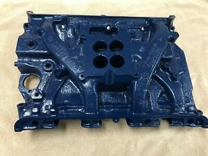 66 67 68 Ford T Bird Mustang 390 Oem 4v S Code Gt Cast Iron Intake Manifold 428
