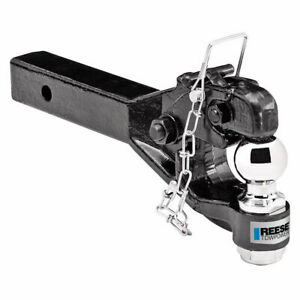 Reese Trailer Tow Hitch Ball Mount W 10k Pintle Hook Fits 2 Tow Receiver