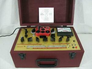 Hickok 6000a Mutual Conductance Tube Tester Calibrated Near Perfect Specs