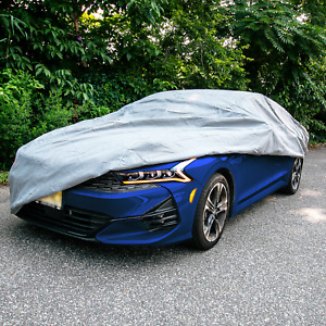 Car Cover Fits Cars Up To 220 Sun Uv Snow Dust Waterproof Protection