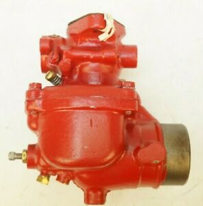 Genuine Ih Farmall Super M Mv Mta Mtav Gasoline Carburetor 400 450 Rebuilt