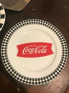 New Coca Cola Gibson 10.5 Dinner Plate choice of 1 - 8