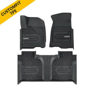 Floor Mat For Chevysilverado 1500 2019 2020 Crew Cab Front Rear Row All Weather