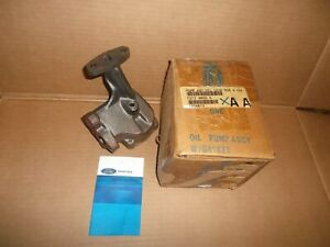 Vintage Nos Ford Engine Oil Pump F2tz 6600 A 77 96 Ford E 350 Econoline Van 7 5l