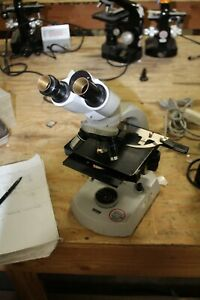 Carl Zeiss Microscope Loaded 100 1 25 Oil 40 0 65 Ph1 16 0 32