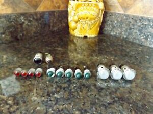 14 Vintage Bee Hive Red Green Clear Dialco Dash Panel Instrument Lights