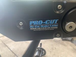 Pro Cut On Car Brake Lathe
