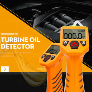 Engine Oil Tester For Auto Check Oil Quality Detector Gas Analyzer Led Display