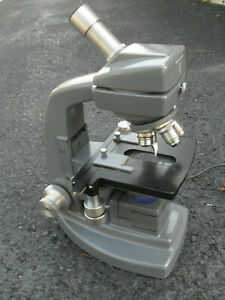 Bausch Lomb Vintage Microscope No Shipping