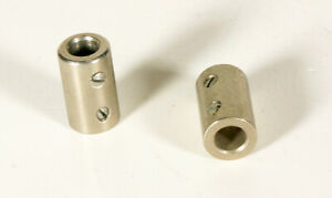 Aluminum 1 4 Shaft Coupler 2 Pieces