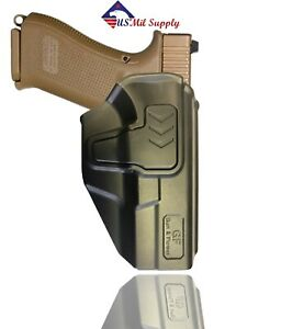 Open Carry Polymer OWB belt Paddle retention Holster fits Glock 19 23 32 $27.75