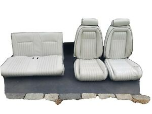 1992 Summer Edition Ford Mustang Convertible White Leather Seats Front