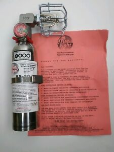 Halon Ss 30 1211 Fire Extinguisher Automatically Deploy 90 Degree Head