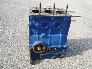 Ford Compact Tractor Model 1510 Engine Block Sba110106720 used