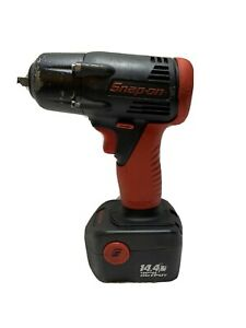 Snap On Ct4410a 3 8 Drive Cordless Impact Wrench18v W Battery No Charger Works