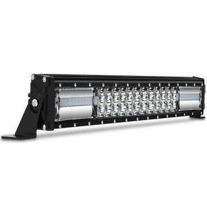 15 Inch Cree Led Work Light Bar 620w Flood Spot Combo Offroad Driving Lamp 15