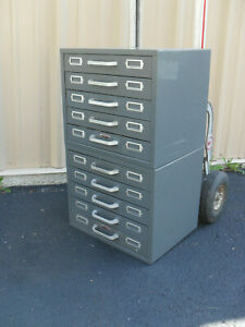 2 Neumade 5 Drawer Slide File storage Cabinets No Shipping